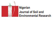 NIGERIAN JOURNAL OF SOIL AND ENVIRONMENTAL RESEARCH